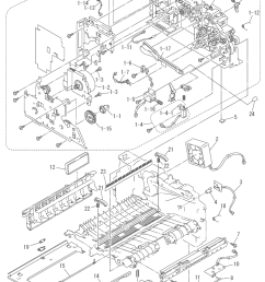 brother dcp 7020 parts list and parts diagrams [ 778 x 1072 Pixel ]
