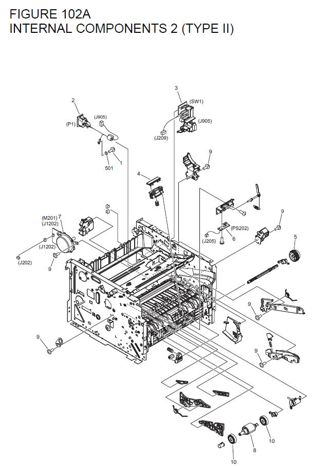 Canon i-SENSYS MF6680dn Parts List and Diagrams