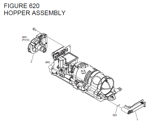 Canon imageRUNNER 1750iF Parts List and Diagrams