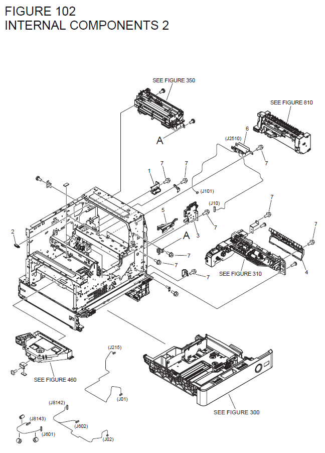 Canon imageRUNNER 1730 Parts List and Diagrams