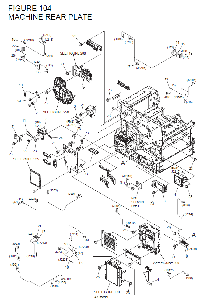 Canon imageRUNNER 1750 Parts List and Diagrams