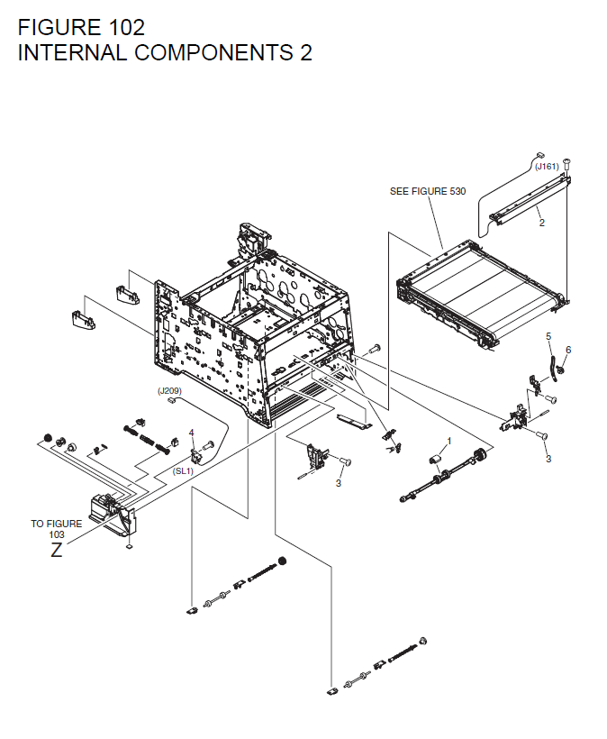 Canon i-SENSYS LBP7210Cdn Parts List and Diagrams
