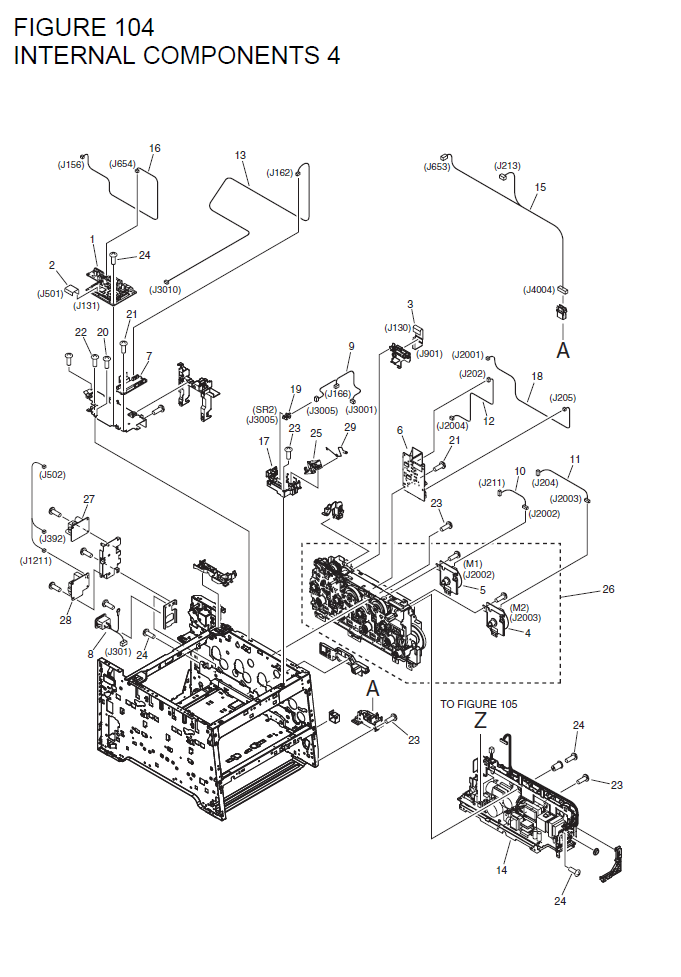 Canon imageCLASS LBP7660Cdn Parts List and Diagrams