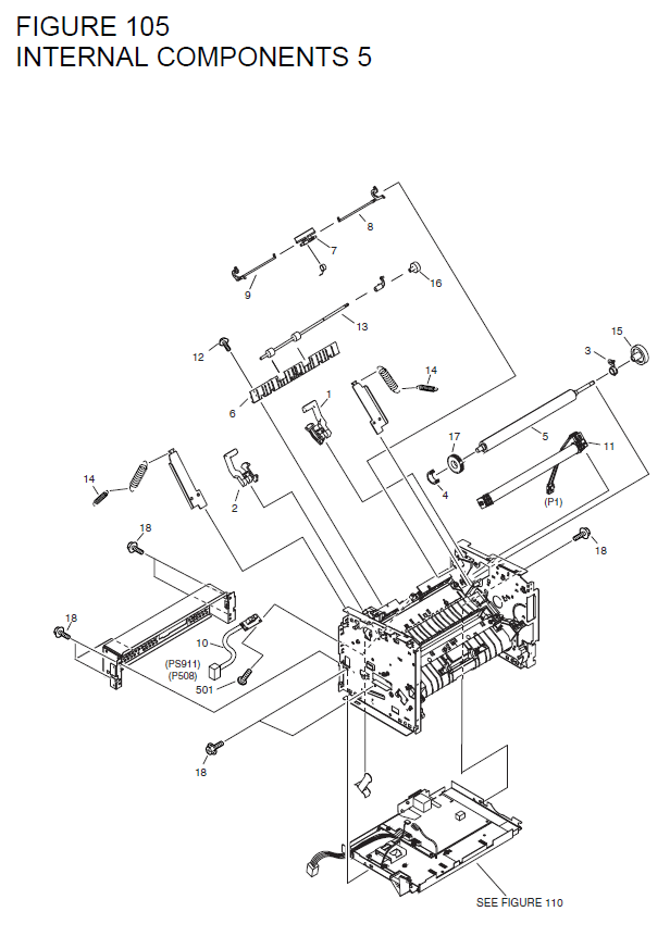 Canon imageCLASS MF3240 Parts List and Diagrams