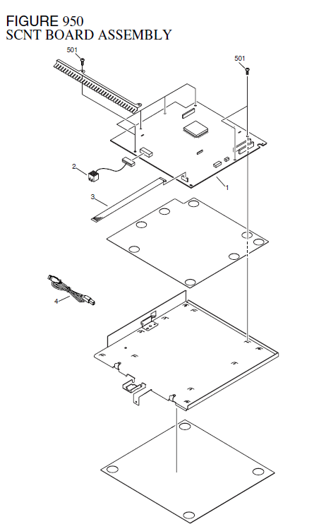 Canon LASER SHOT MF3110 Parts List and Diagrams