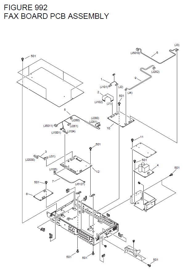 Canon imageRUNNER 4570 Parts List and Diagrams