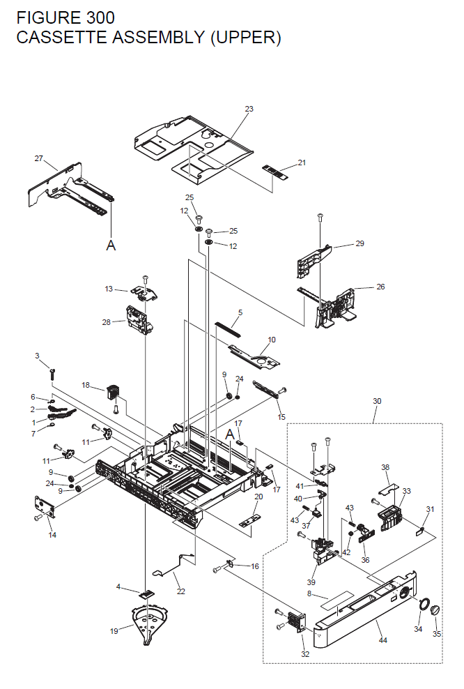 Canon imageRUNNER ADVANCE 4035 Parts List and Diagrams