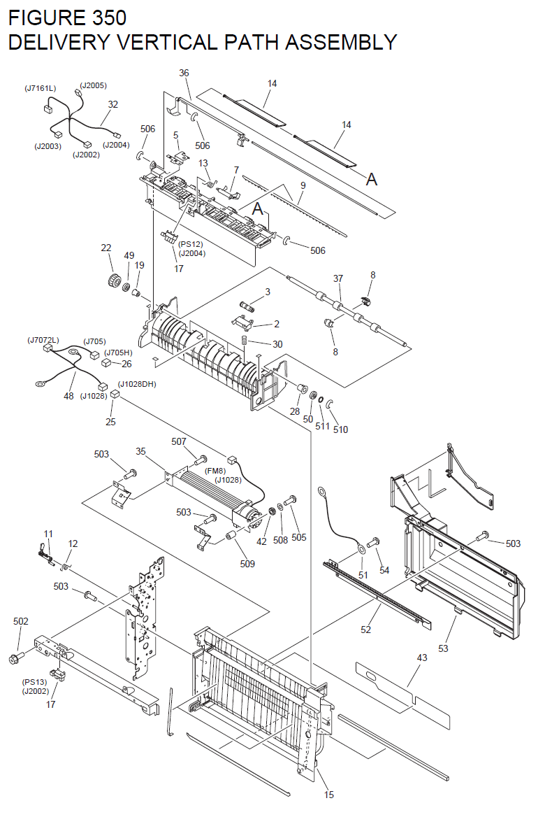 Canon imageRUNNER C5180 Parts List and Diagrams