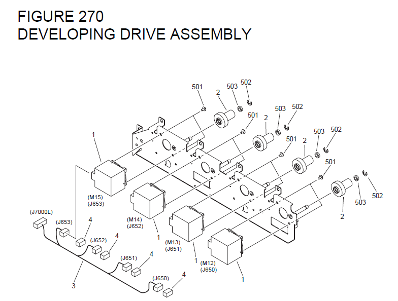 m14 parts diagram vectra c boot wiring canon imagerunner c4580 list and diagrams fig 270 fm2 5362 000 1 developing drive assembly fk2 2518 4 motor stepping dc m12 13 14 15 2 fu7 0198 gear 51t 26t 3 7106 cable