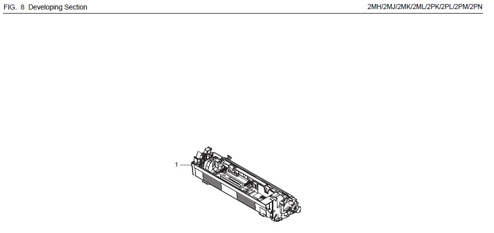 Kyocera FS-1135MFP Parts List and Diagrams