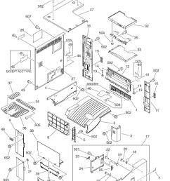 2 fb5 5055 000 1 panel printer upper 3 fb5 5058 000 1 panel support left 4 fb5 5063 000 1 panel internal rear 5 fb5 5182 000 1 panel left support  [ 757 x 1075 Pixel ]