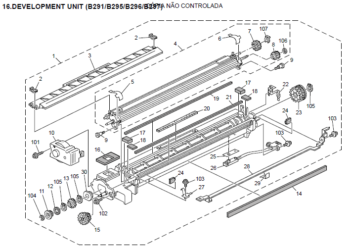 Ricoh Aficio MP 3500 Parts List and Diagrams