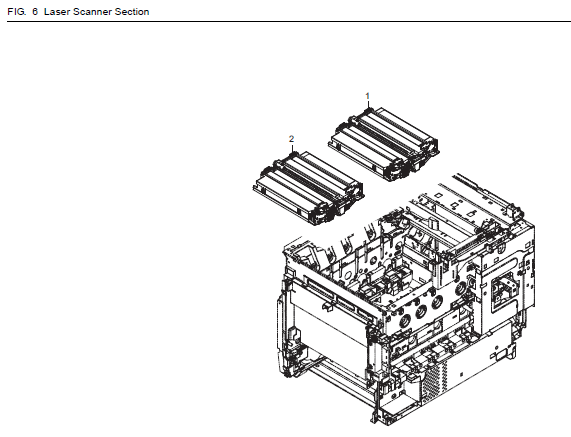 Kyocera ECOSYS P6021cdn Parts List and Diagrams