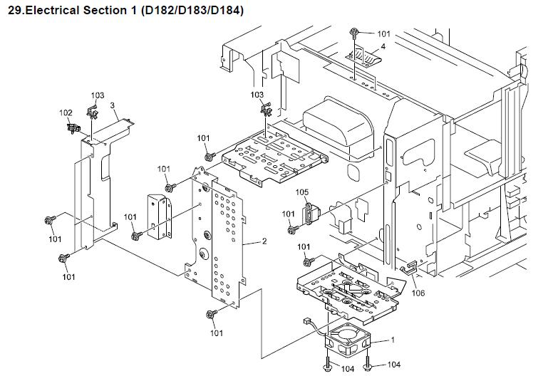 Ricoh MP 3053 Parts List and Diagrams Manual