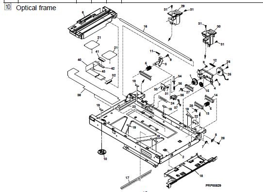 Sharp AL-1530CS Parts List and Diagrams