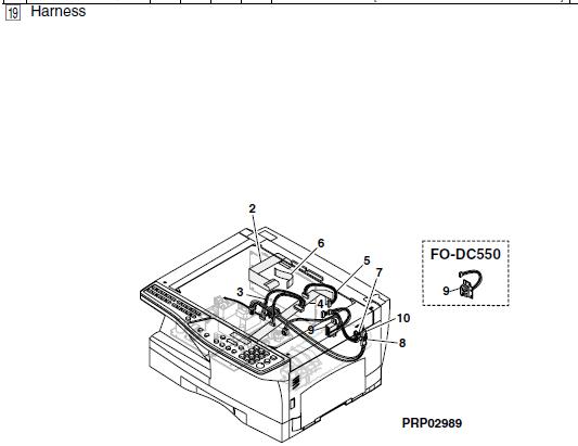 Sharp AL-1661CS Parts List and Diagrams