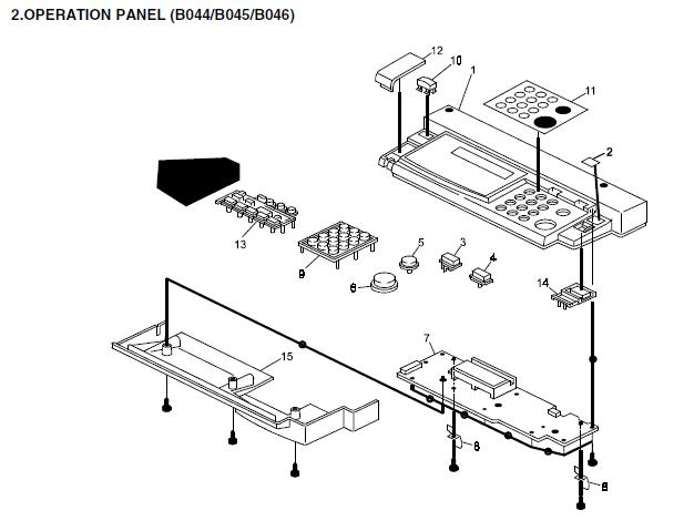 Ricoh Aficio 120, Aficio 1013, Aficio 1013f Parts List and
