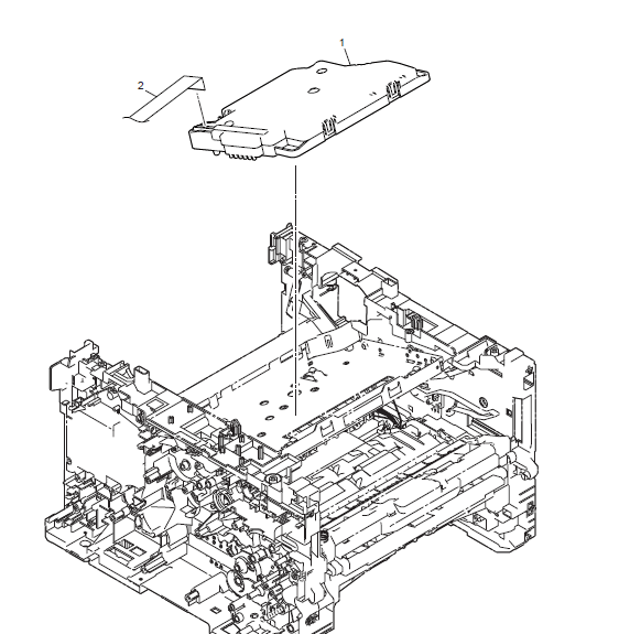 Brother HL L6450DW Parts List and Illustrated Parts Diagrams