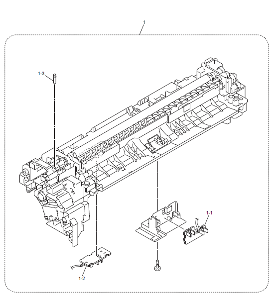 Brother HL L8350CDWT Parts List and Illustrated Parts Diagrams