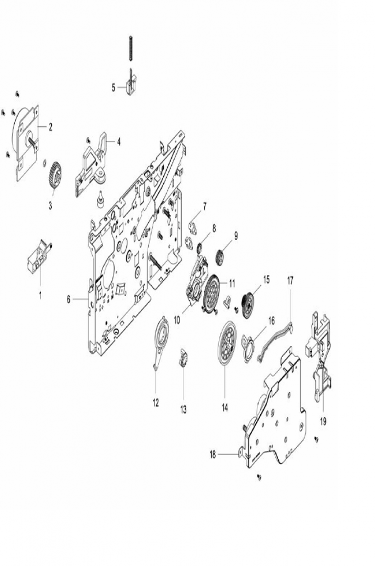Xerox Workcentre 3215-3225 Parts List and Diagrams