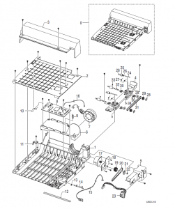 Xerox Phaser 3600 Parts List and Diagrams