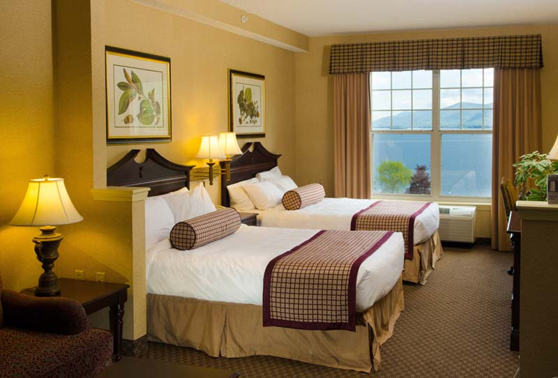 Upscale Hotel Rooms  Suites in Lake George Village  The