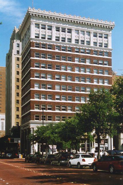 Burk Burnett Building Architecture In Fort Worth