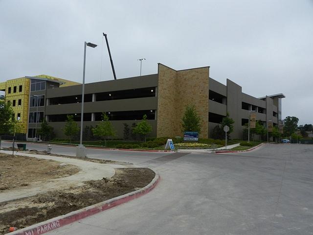 Midtown Parking Garage Fort Worth Texas  RL Electric