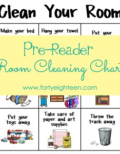Clean your room chart also forty eighteen go help for young kids rh fortyeighteen