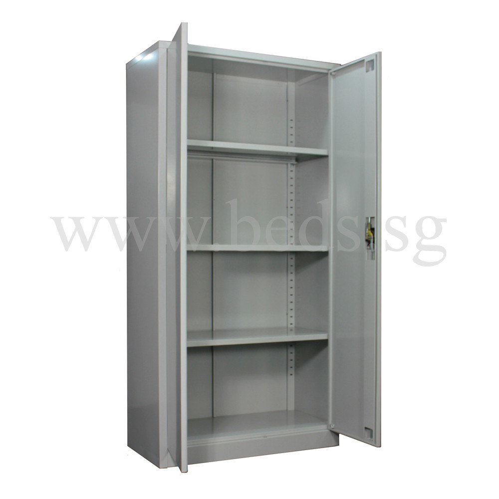 Tall Steel Filing Cabinet (Swinging Door)