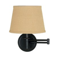 Kenroy Home Sheppard Swing Arm Wall Lamp In Oil Rubbed ...