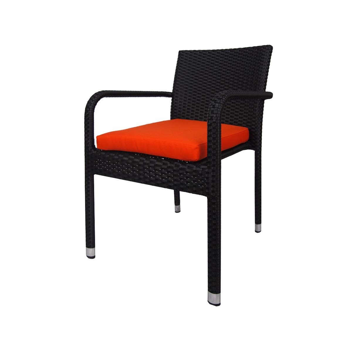 orange cafe chairs hanging chair no stand boulevard 4 dining cushion 2 year warranty