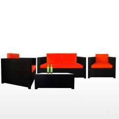 Cushion Sofa Set Pangkor Oak Futon Bed Fiesta Ii Orange Furniture Home Decor Fortytwo