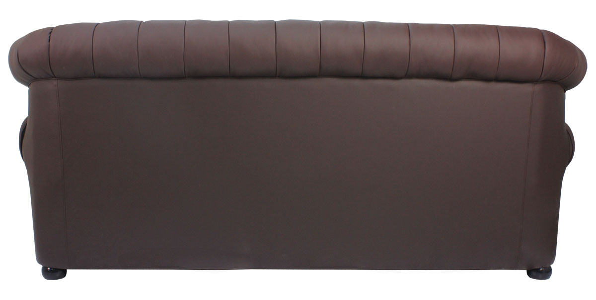 one and half seater sofa spring repair singapore tydus strusso classical 3 leather in dark brown