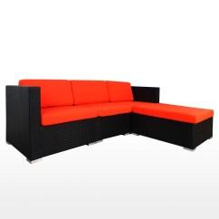 Cushion Sofa Set Brown Ideas Summer Outdoor Modular Ii Orange Cushions 2 Year Warranty