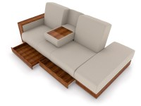 Sofa Storage Furniture Chicago Futon Sofa