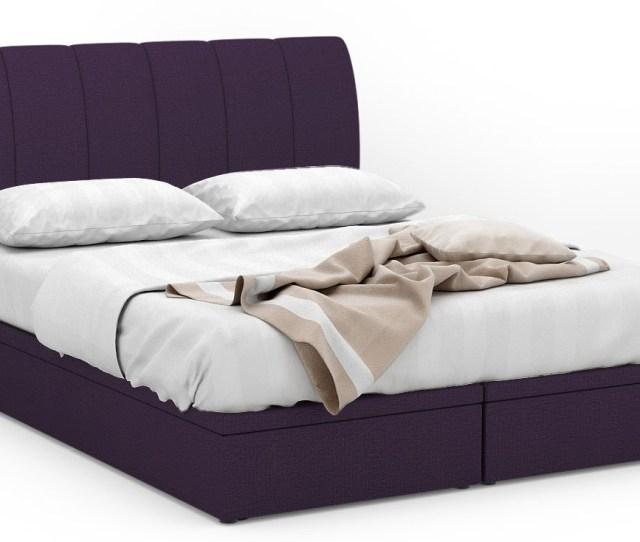 Geodom Fabric Storage Bed Frame