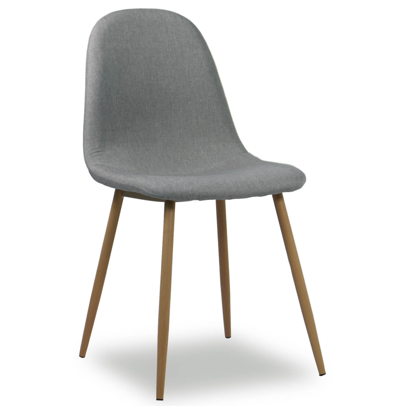 Quinny Designer Fabric Chair Grey  Furniture  Home