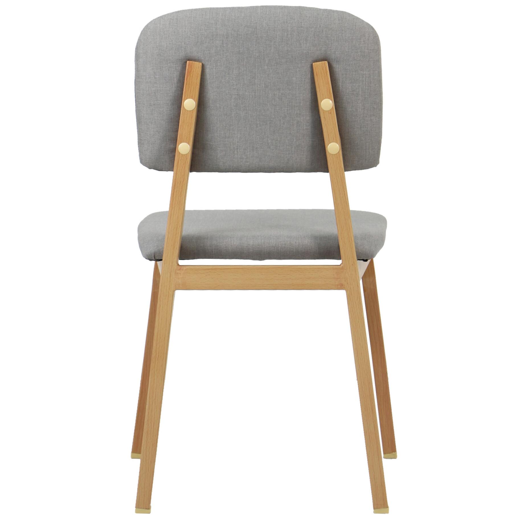 light grey chair ergonomic folding chairs zeslier dining furniture home decor fortytwo regular price s 82 90