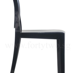 Ghost Chair Replica Fabrics For Covering Chairs Designer Louis Black Furniture