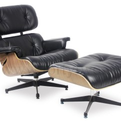 Eames Chair Replica Most Comfortable Chairs Designer Lounge Black Furniture