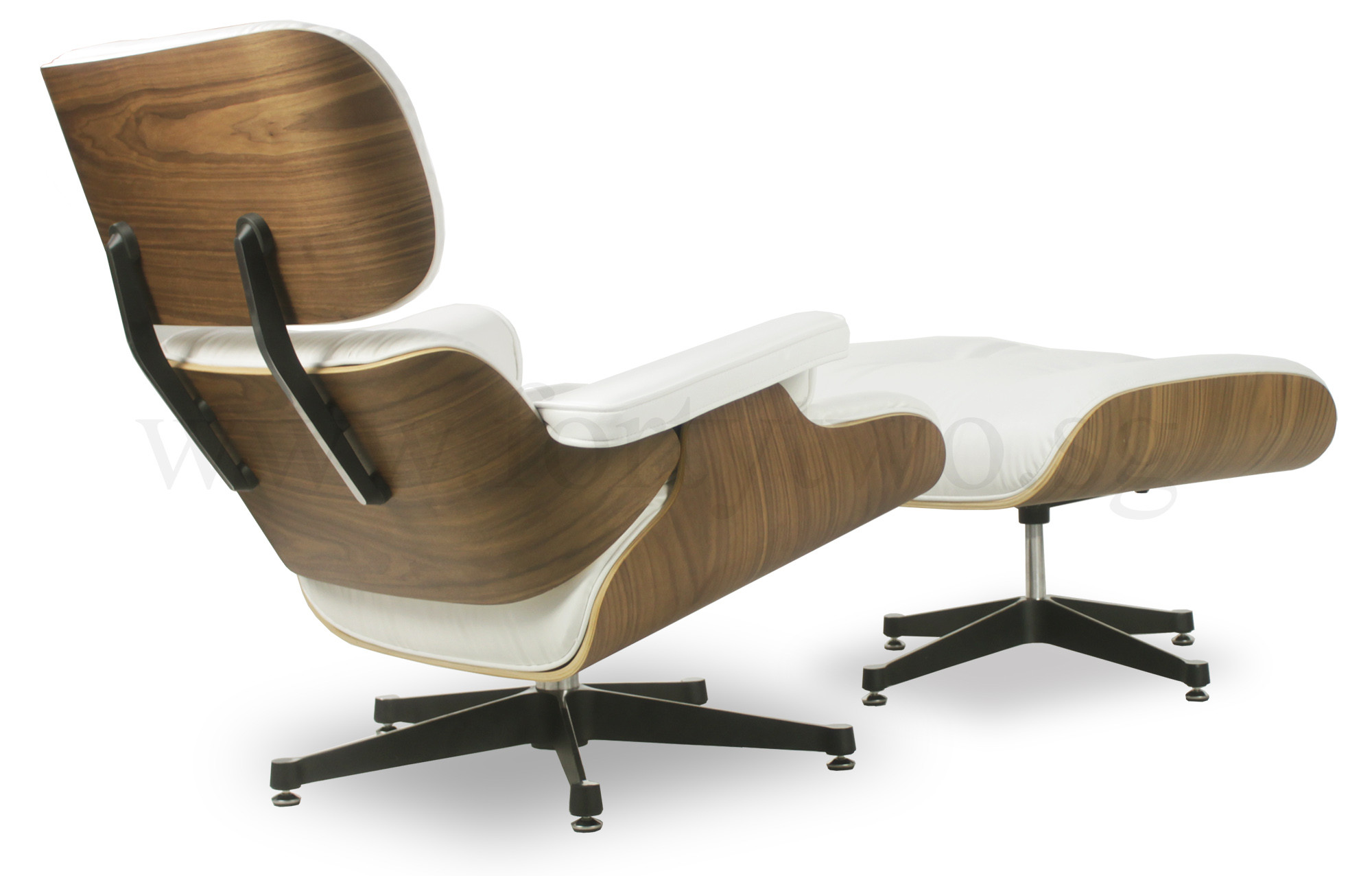 white eames lounge chair replica accent chairs with ottomans designer leather