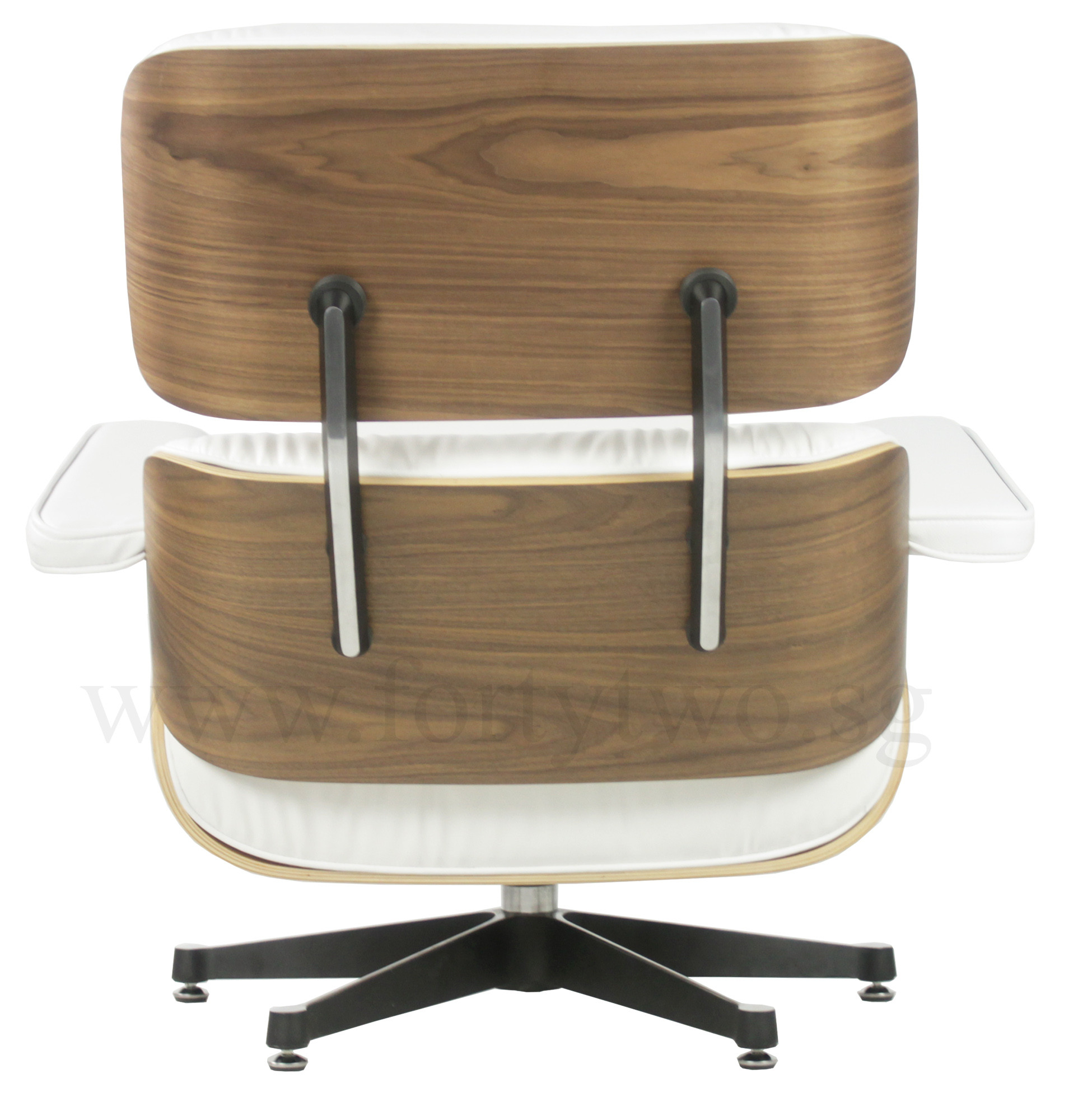 fake eames chair black covers with blue sash designer replica lounge white leather furniture regular price s 1 799 00