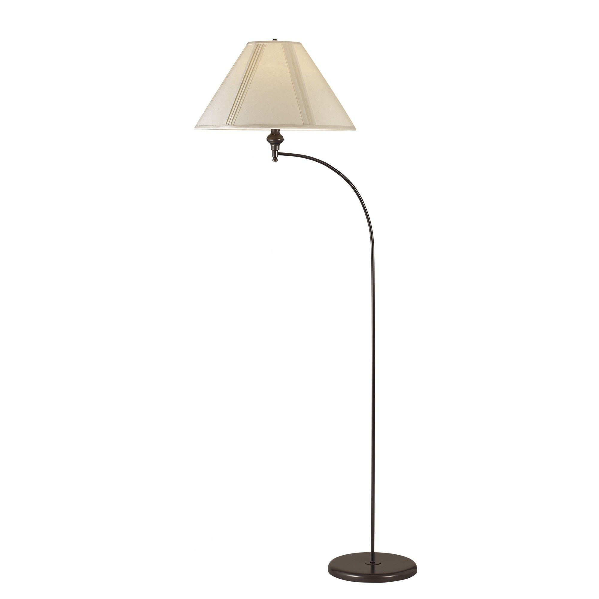 Cal Lighting Arc Floor Lamp In Dark Bronze (BO