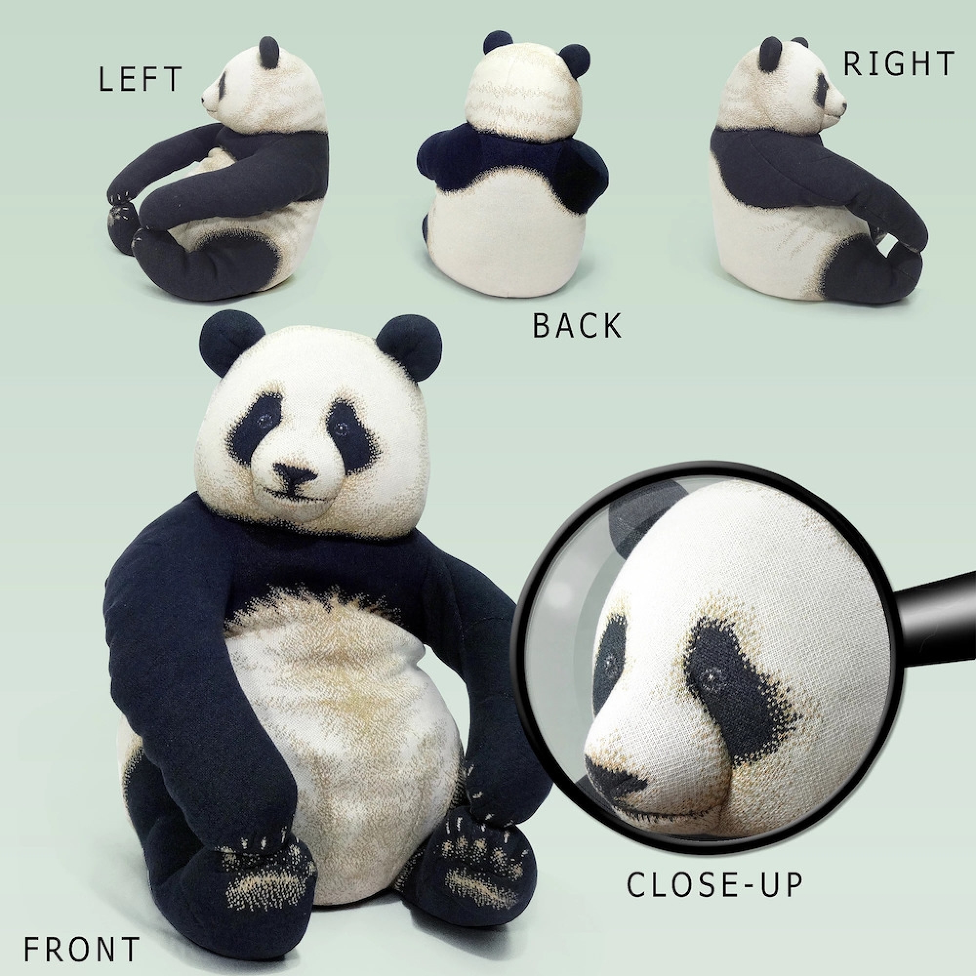 panda bean bag chair chairs under 100 2 giant bags home decor and lifestyle
