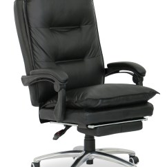 Ergonomic Chair Singapore Individual Garden Covers Deluxe Pu Executive Office Black Furniture