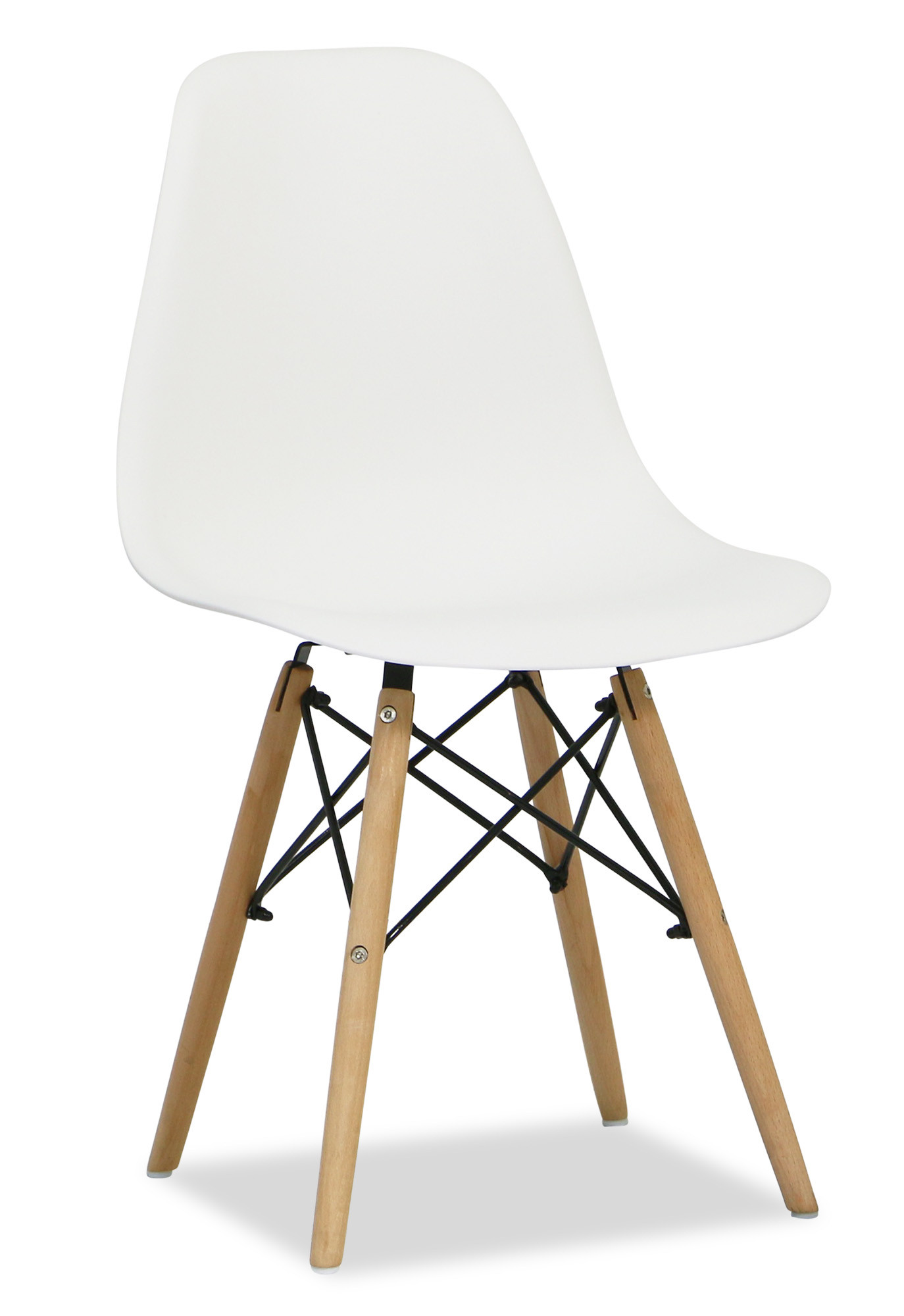 designer dining chairs chair covers and bows rental eames white replica
