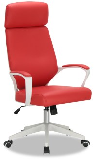 Erna Executive Office Chair (Red)   Furniture & Home Dcor ...