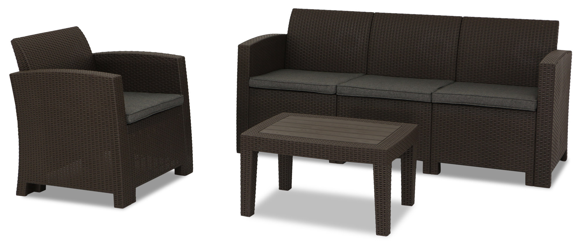 outdoor sofa singapore cleaning polyester covers nina 5 seater set brown furniture and home