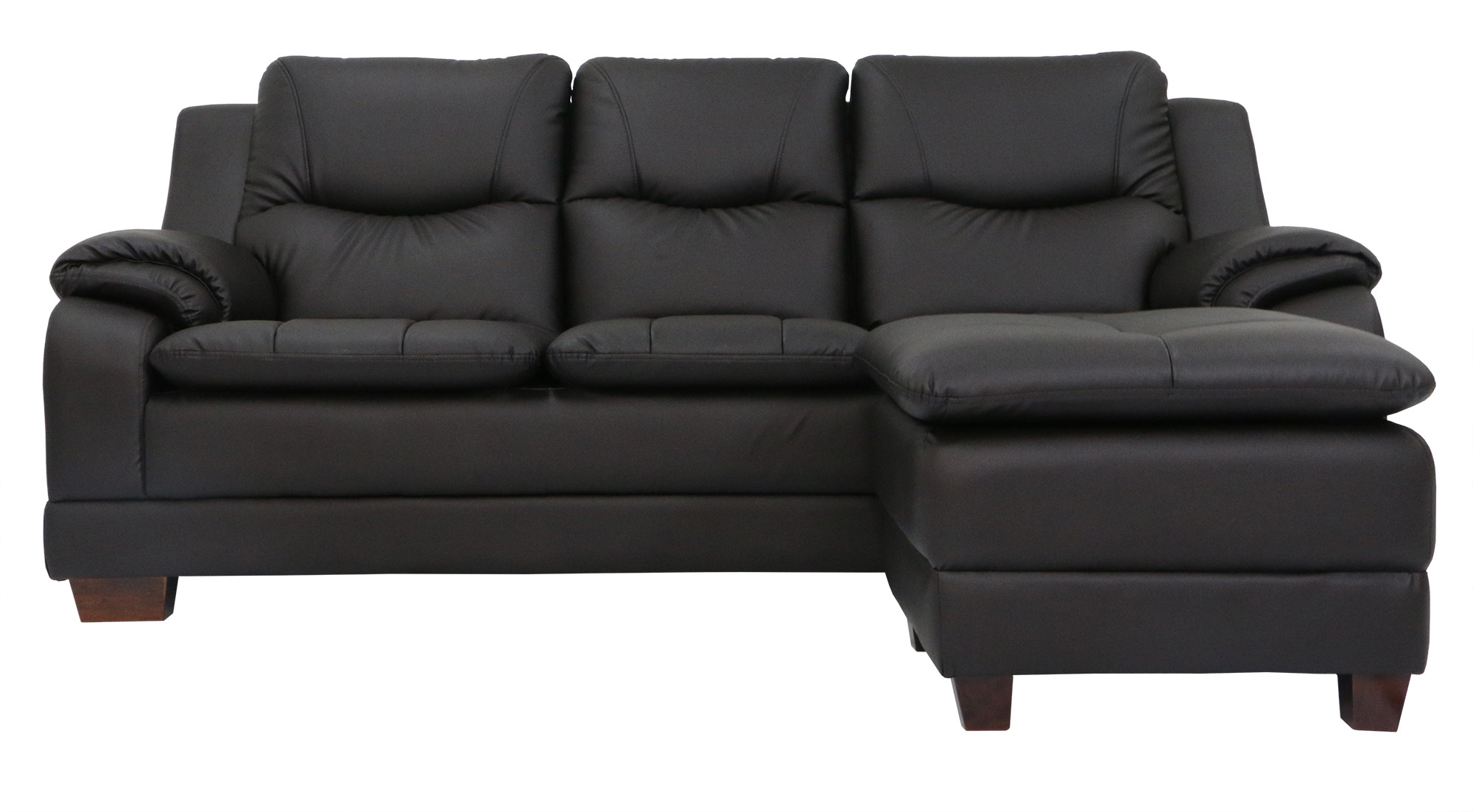 moods 3 seater leather sofa bed bonbon trading doc hadas with stool pvc furniture home decor fortytwo